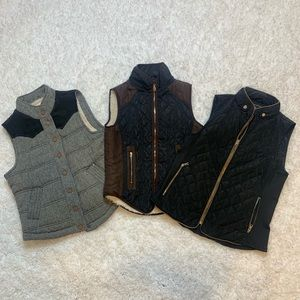 *Lot of 3* Winter Vests Great Condition Size M